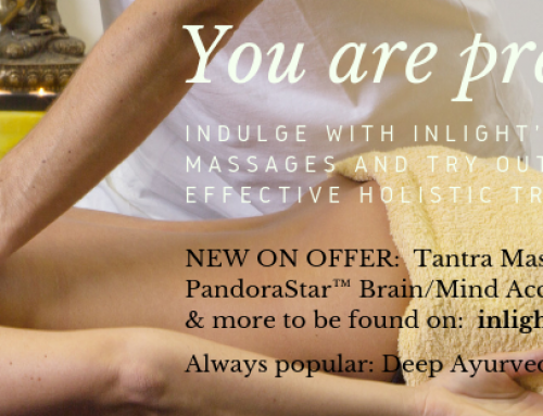 New rare treatment offers: Tantra massage, PandoraStar & more