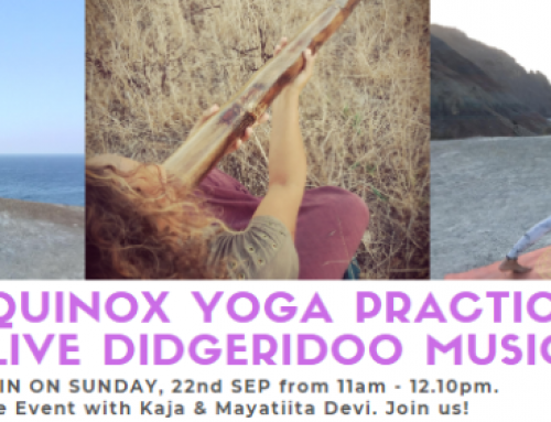 Free Equinox Yoga Event with Live Music on 22 Sep