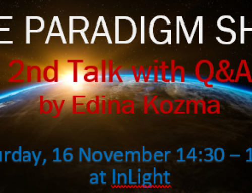 The Paradigm Shift – Free Talk with Q&A on 3&16 Nov