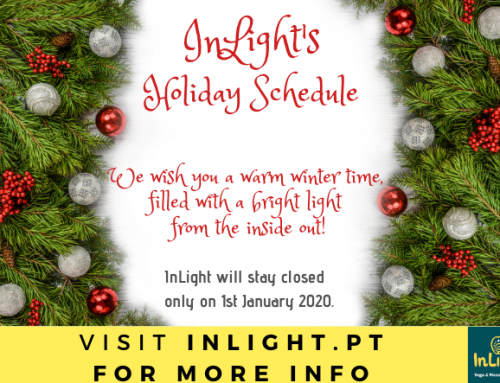 Holiday Schedule for daily Yoga classes