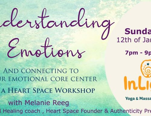 Understanding Emotions. A Heart Space WS on 12 Jan