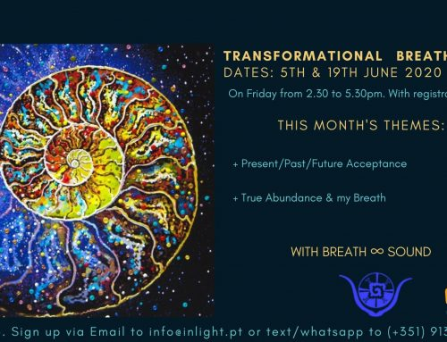 Breathworkshops restarting at InLight from 5 June