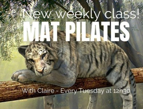 NEW: Weekly Mat PILATES class from 18/2