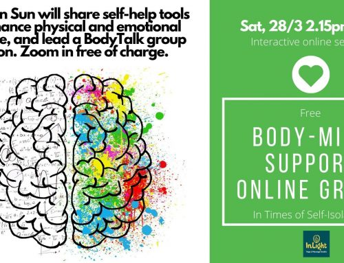 Free Body-Mind Online Support Group – 28/3