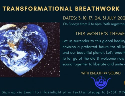 Transformational Breathworkshops continue throughout July