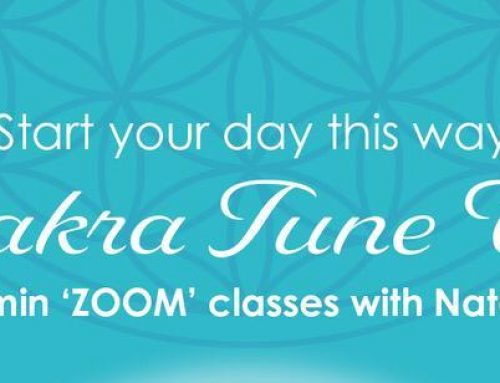 New online Chakra Tune up classes from 14 Sep