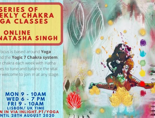 NEW Online Chakra Yoga classes with Natasha from 20/7
