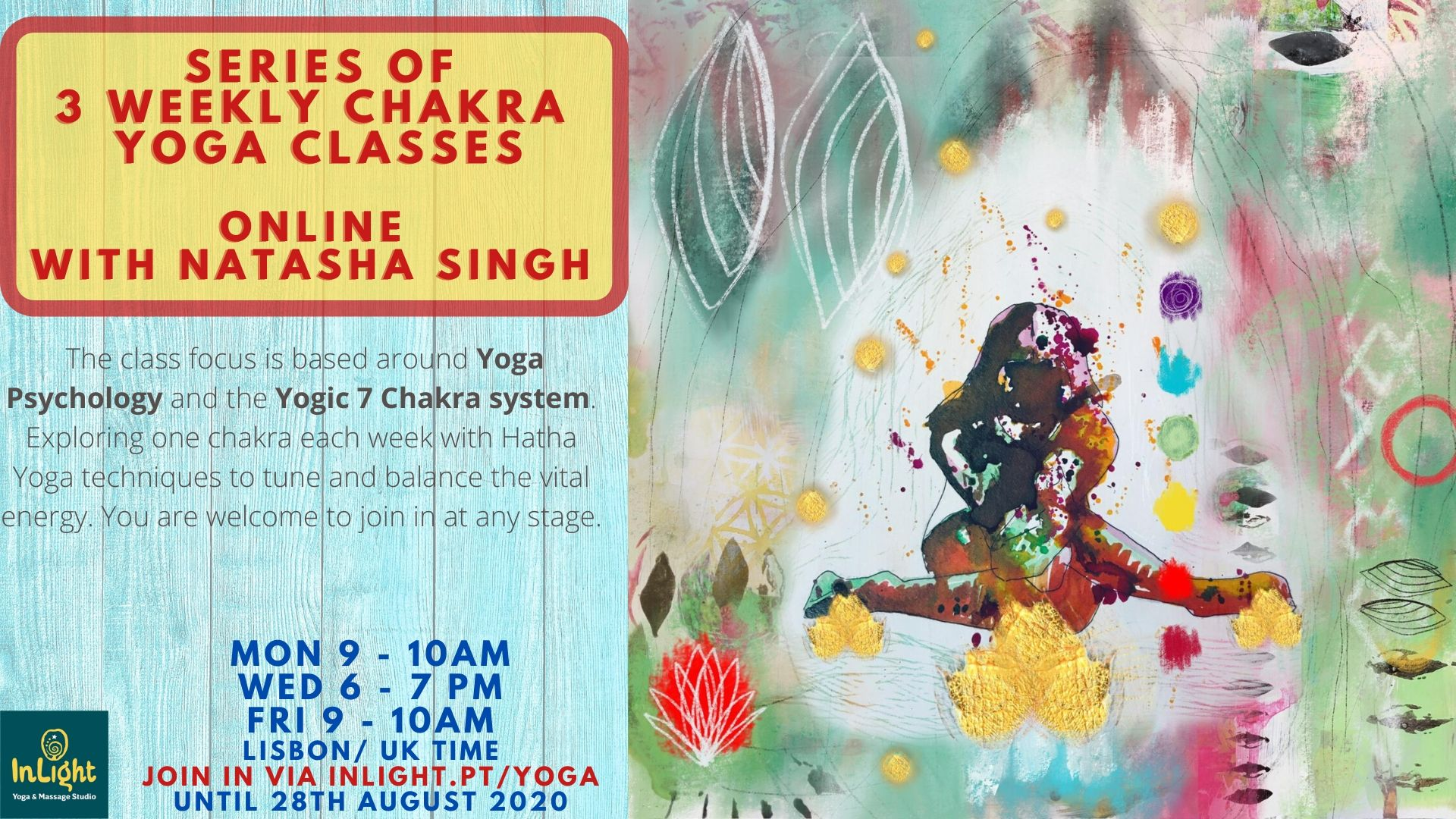 Chakra classes with Natasha Singh