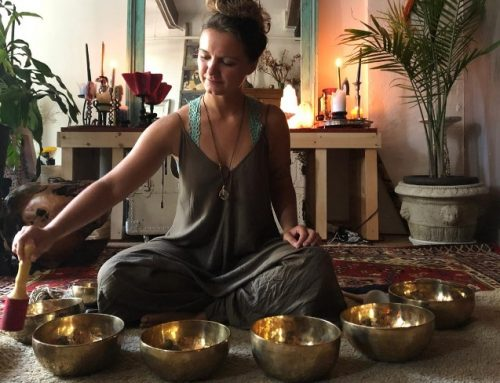 New Tuesday midday reset class with Sound Healing