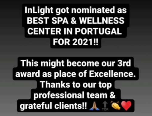 InLight nominated as BEST WELLNESS CENTER IN PORTUGAL 2021!